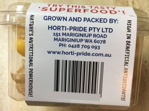 Horti-Pride Cape Gooseberries Barcode