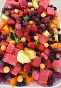 Fruit Salad with Gooseberries