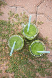 Cape Gooseberry Green Smoothie