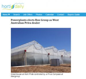 HortiDaily Powerplant Article Featuring our greenhouse