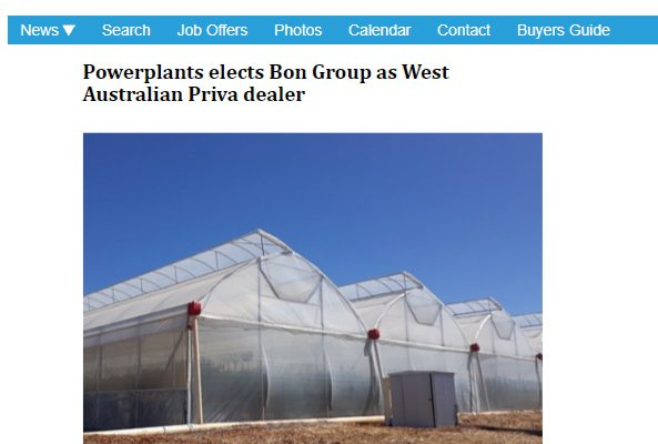 Horti-Pride's Greenhouse Technology in 'HortiDaily' – PRESS